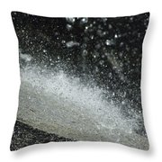 End Of The Waterfall Throw Pillow