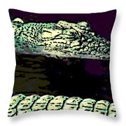 Endangered 2 Throw Pillow