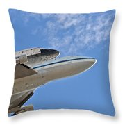 Endeavour's Last Flight IIi Throw Pillow