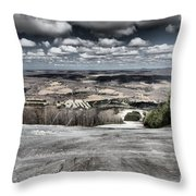 Endless Clouds Throw Pillow