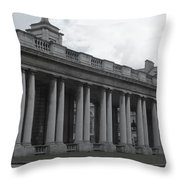 Endless Columns Throw Pillow