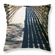 Endless Travels Throw Pillow