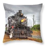 Engine 25 0040 Throw Pillow
