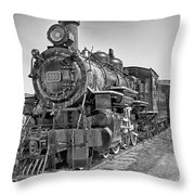 Engine 593 Throw Pillow