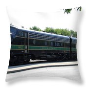 Engine 902 - Reading Lines Throw Pillow