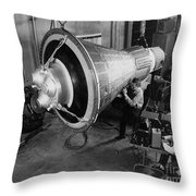 Engineers Inspect And Test Throw Pillow