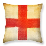 England Flag Throw Pillow