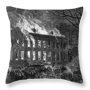 England: Military College Throw Pillow