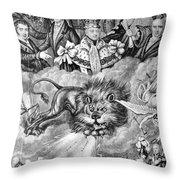 England: Reform, 1830 Throw Pillow