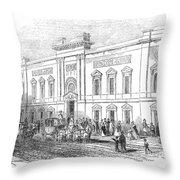 England: Theatre, 1843 Throw Pillow