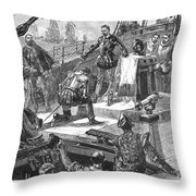 England: Victory, 1588 Throw Pillow by Granger