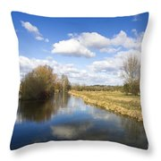 English Countryside1 Throw Pillow by Jane Rix
