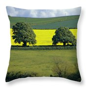 The Cotswolds 2 Throw Pillow
