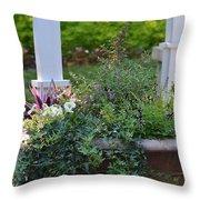 English Ivy Cascade Throw Pillow