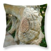 Engrained Throw Pillow