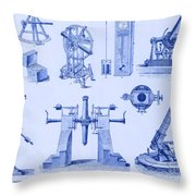 Engraving Of Historical Astronomy Throw Pillow