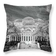 Enid A Haupt Conservatory  Throw Pillow