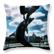 Enjoy The Day Throw Pillow