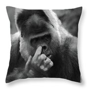 Enjoy The Moment Throw Pillow