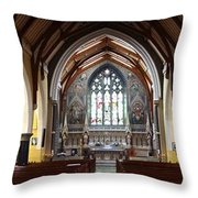 Ennis Cathedral Throw Pillow
