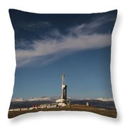 Ensign Drilling Rig 125 Throw Pillow