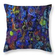 Entanglements Redux Throw Pillow