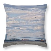 Enterprise 3 Throw Pillow