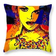 Entertainer Throw Pillow