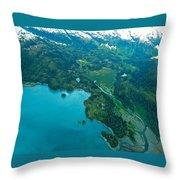 Enticing Perscpective Throw Pillow