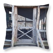 Entrance Way Throw Pillow by Robert Margetts