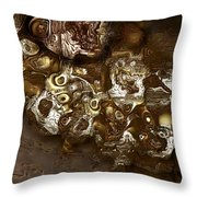 Eons Ago Throw Pillow