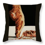 Ephemeral Throw Pillow