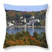 Ephraim And Eagle Harbor Throw Pillow