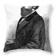 Ephraim Squier (1821-1888) Throw Pillow