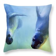Equally Fascinating Throw Pillow