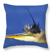 Erect Throw Pillow