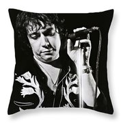 Eric Burdon In Concert-2 Throw Pillow
