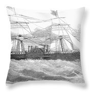 Ericssons Caloric Engine Throw Pillow