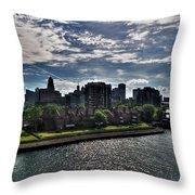Erie Basin Marina Summer Series 0003 Throw Pillow