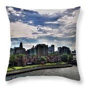 Erie Basin Marina Summer Series 0005 Throw Pillow