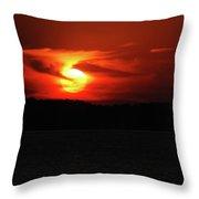Erie Basin3549 Throw Pillow