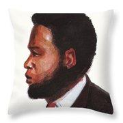 Ernest Simo Throw Pillow