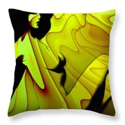 Erotic In The Seventies Throw Pillow