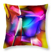 Erotica Intended Throw Pillow