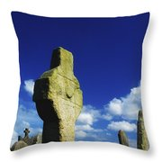 Errigal Keerogue, St Kierans Church Throw Pillow