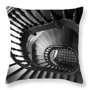 Escalier  Throw Pillow