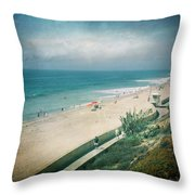 Escape For A Day Throw Pillow