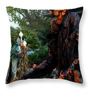 Escape From The Pumpkin Patch Throw Pillow