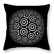 Escher Disc 2 Throw Pillow