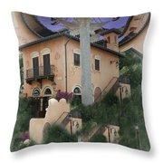 Escher's Dream Throw Pillow